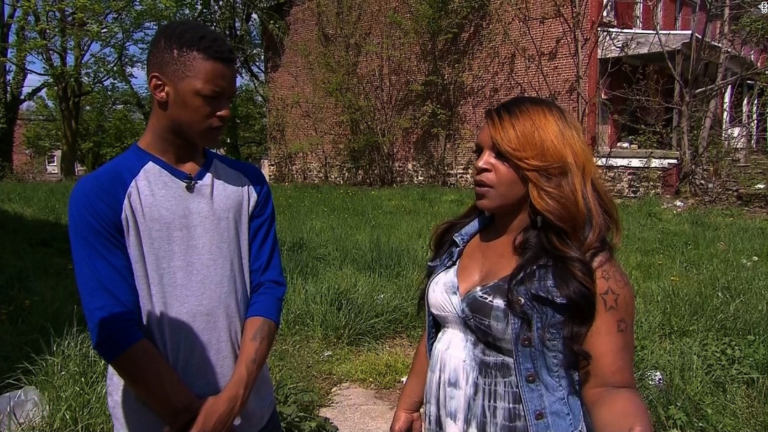 "Toya Graham, the Baltimore mother who slapped her son several times and pulled him out of a protest, tells CNN she wasn't concerned she might be embarrassing her son. ""As long as I have breath in my body, I will always try to do right by Michael and show him what's going on out in society doesn't have to be you,"" she said."