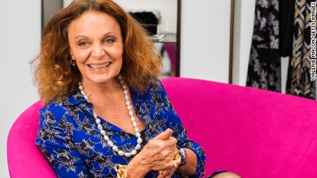 Fashion designer Diane von Furstenberg in 2014.
