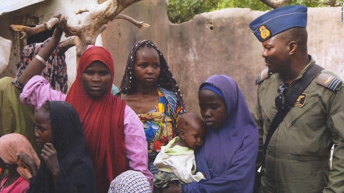 Nigeria: 160 more women, children rescued from Boko Haram camp