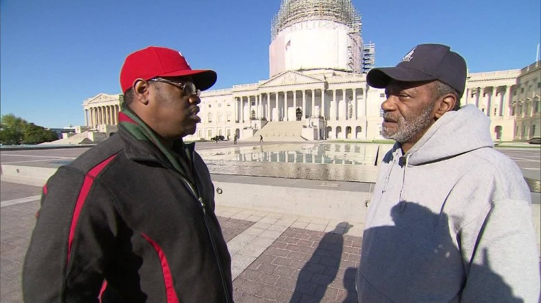 homeless hill worker Boyz II Men Nathan Morris dana bash interview capitol _00005528