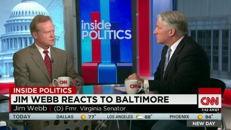 NewDay Inside Politics: Jim Webb reacts to Baltimore_00011203.jpg