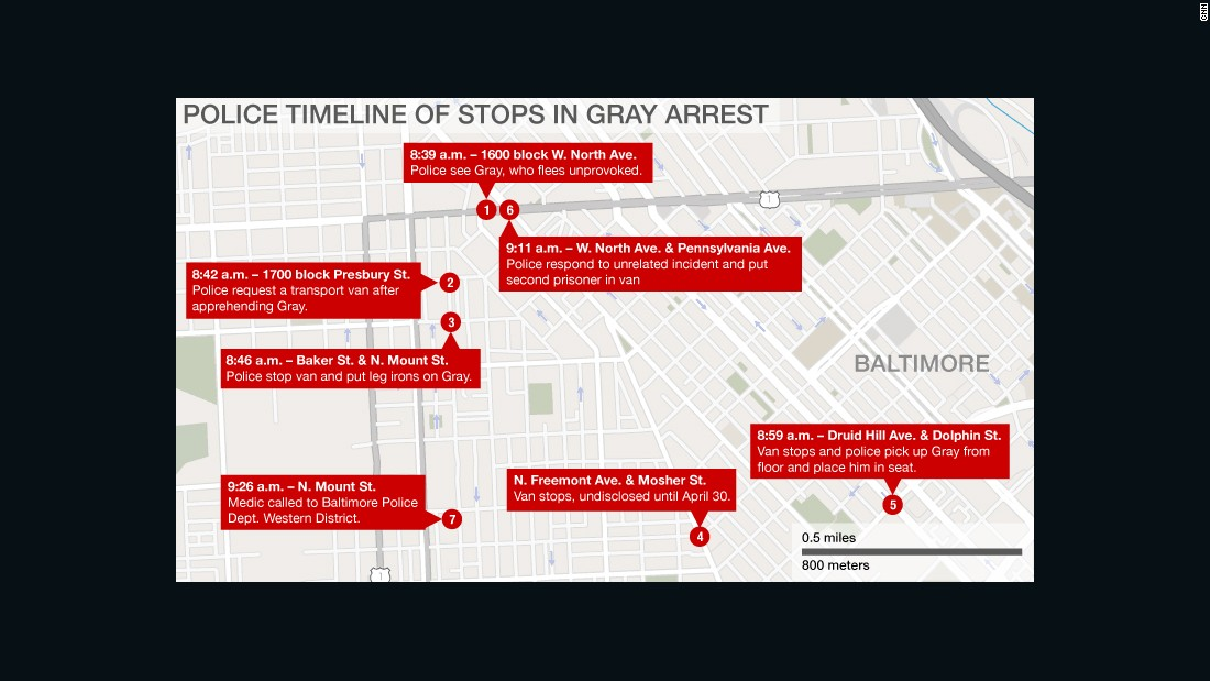 What we know, don't know about Freddie Gray's arrest