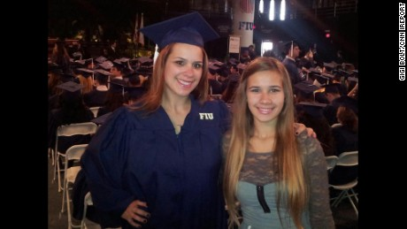 """My most proud moment was receiving my Bachelor's degree and having my daughter with me at my graduation. It is important as a parent to lead by example and I tell her this all the time."" -- Gigi Bolt, Miami, Florida"