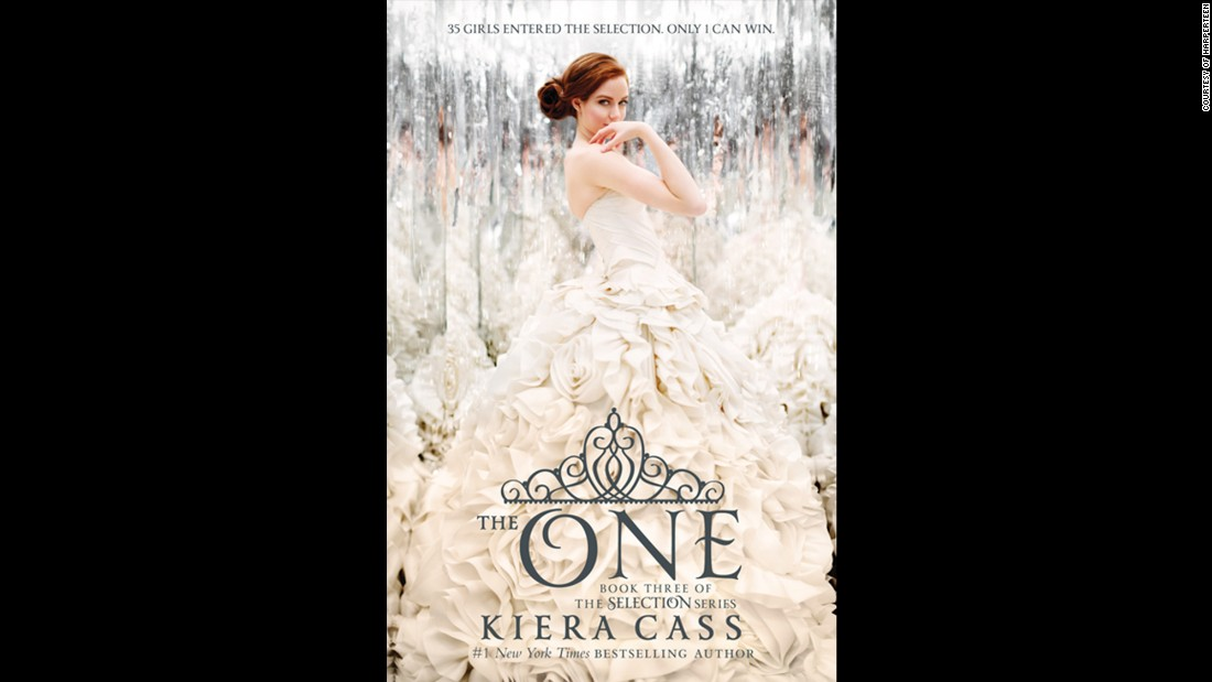 """The One"" by Kiera Cass was named the teen book of the year."