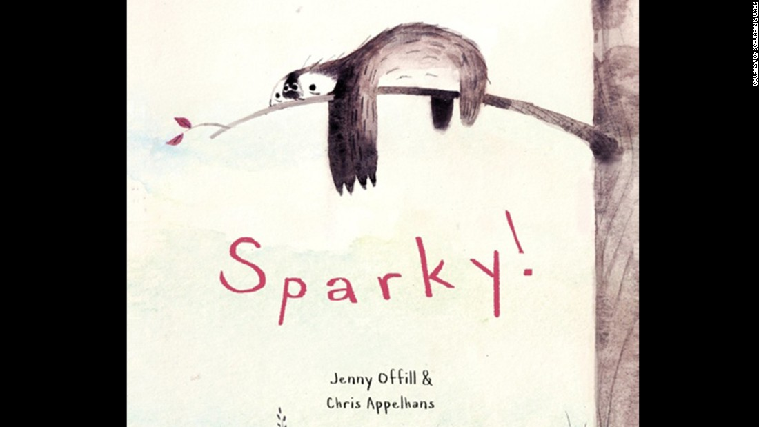 "Chris Appelhans was selected as the children's choice illustrator for his work on ""Sparky!"" by Jenny Offill."