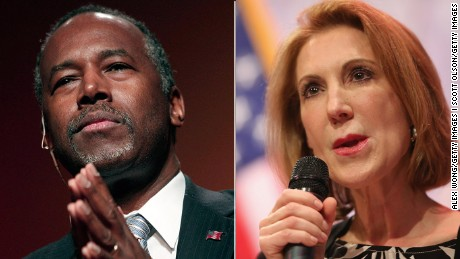 How do Carson and Fiorina stack up in GOP race?
