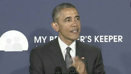 Obama: Some communities have odds stacked against them