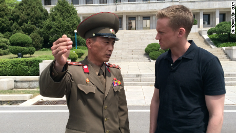 What's it like reporting from North Korea?