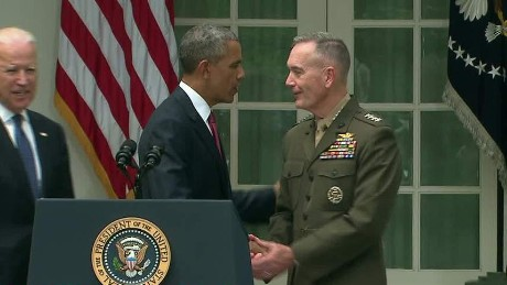 Obama nominates new Joint Chiefs chairman