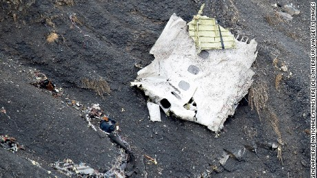 SEYNE, FRANCE - MARCH 25: (Alternate crop of #467495310)  In this handout image supplied by the Ministere de l'Interieur (French Interior Ministry), search and rescue teams attend to the crash site of the Germanwings Airbus in the French Alps on March 25, 2015 near Seyne, France.  Germanwings flight 4U9525 from Barcelona to Duesseldorf  has crashed in Southern French Alps. All 150 passengers and crew are thought to have died.  (Photo by F. Balsamo/Gendarmerie nationale/Ministere de l'Interieur via Getty Images)