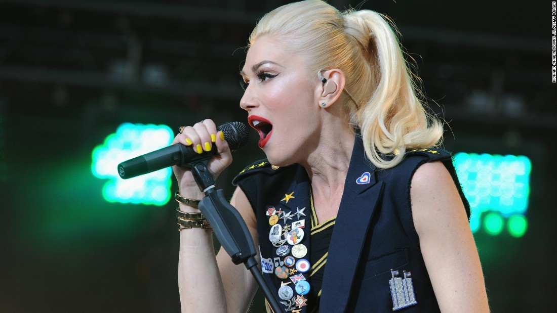 Why do we keep thinking Gwen Stefani of No Doubt is like 25? Add 20 years to that.
