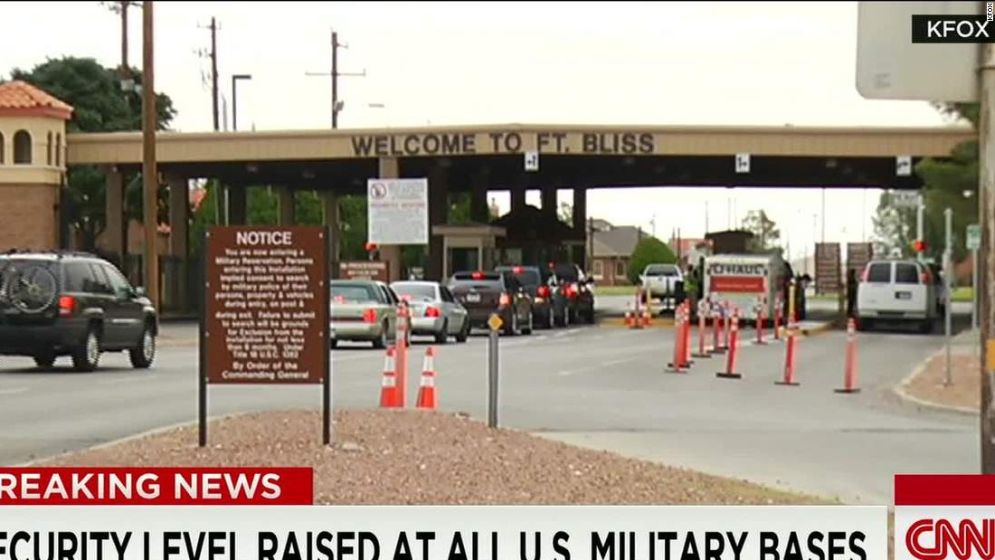 ISIS activity prompts threat level increase at bases