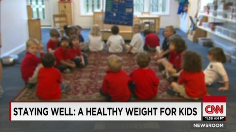 A healthy weight for kids