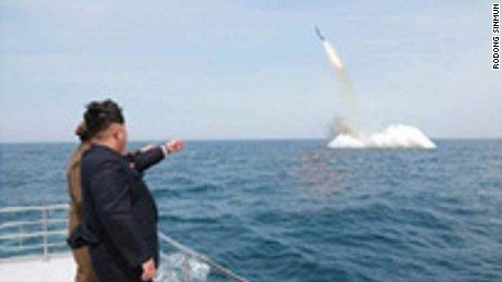 "North Korean leader Kim Jong Un praised the test as a ""miraculous achievement,"" according to KCNA."
