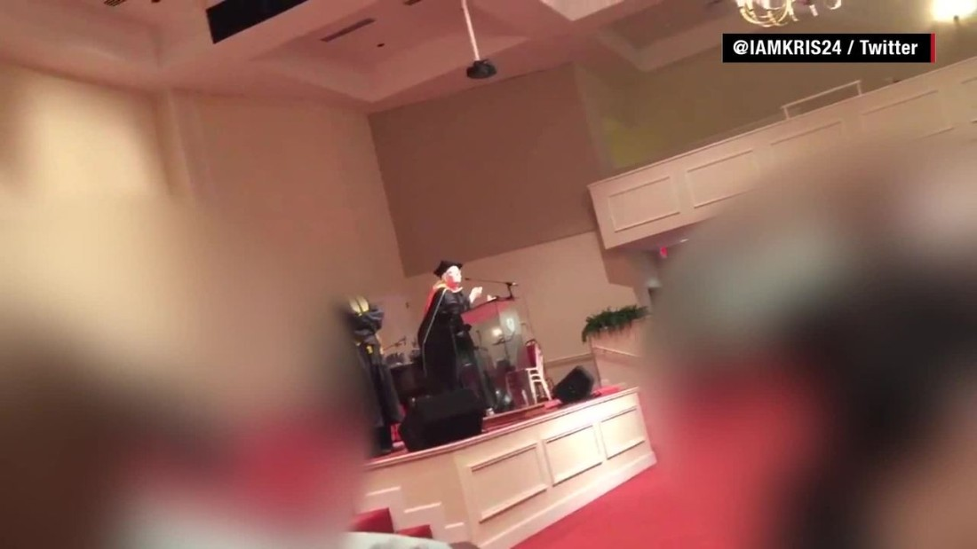 Georgia school director apologizes for 'black people' graduation remark