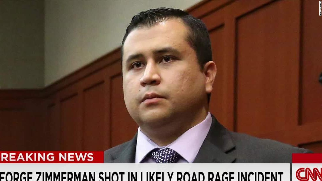 George Zimmerman shot at by motorist, police say