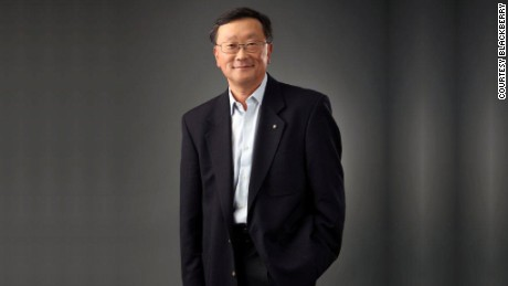 New BlackBerry CEO John Chen has impressed Wall Street with an optimistic but realistic tone and a back-to-basics approach.