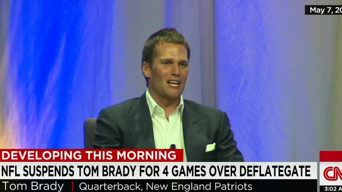 'Deflategate:' 4-game suspension for Tom Brady, $1M fine for Pats