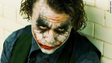 "Heath Ledger won a posthumous Academy Award for his performance as the Joker in ""The Dark Knight.&cotización;"