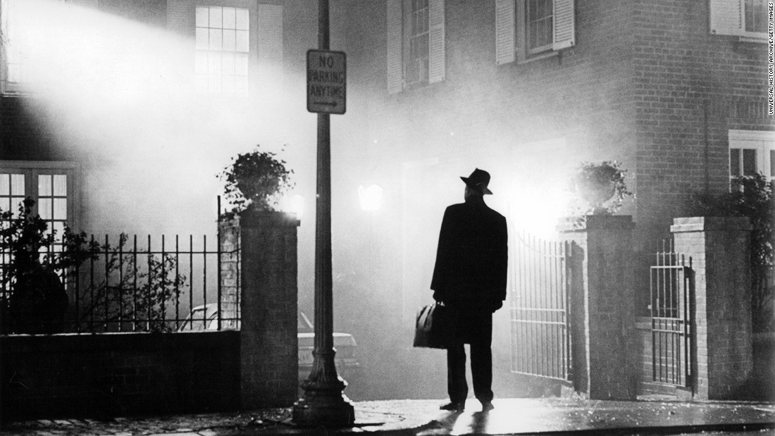 """The Exorcist,"" based off the best-selling novel by William Peter Blatty about a demonically possessed 12-year-old girl, was released in December 1973. It went on to become one of the most popular films of all time. It was the first horror film to be nominated for a Best Picture Oscar, and Blatty won the Academy Award for Best Adapted Screenplay."