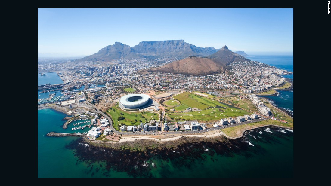 Earlier this year, PrivateFly released the results of its 2015 global survey of the world's most scenic airport approaches. Cape Town International was the 10th most popular with voters. Its runway offers views of South Africa's famous Table Mountain.