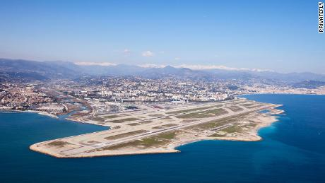 Nice Côte d'Azur Airport is located 3.7 miles southwest of Nice, in the Alpes-Maritimes department of France. The airport is the main point of arrival for passengers to the Côte d'Azur (French Riviera) area.