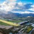 Queenstown Airport scenic approaches