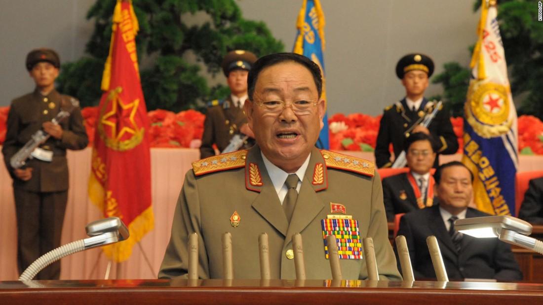 Reports: North Korea publicly executes defense chief