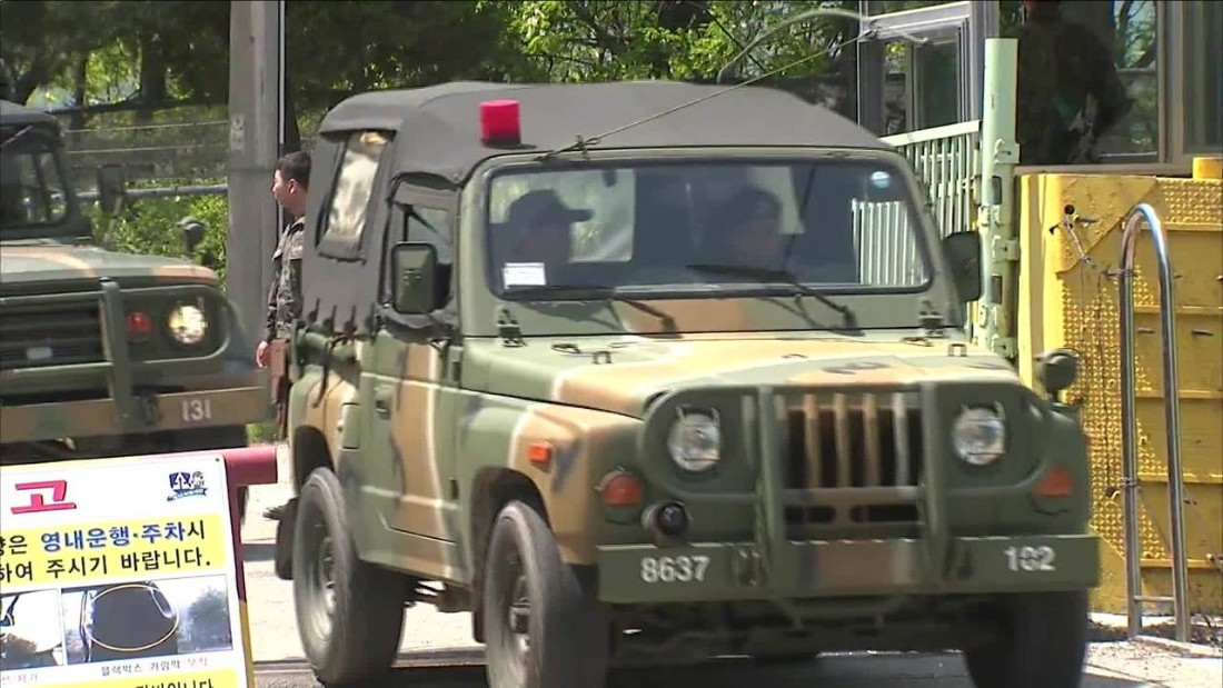 South Korea: 2 dead, 3 wounded in shooting spree at military camp