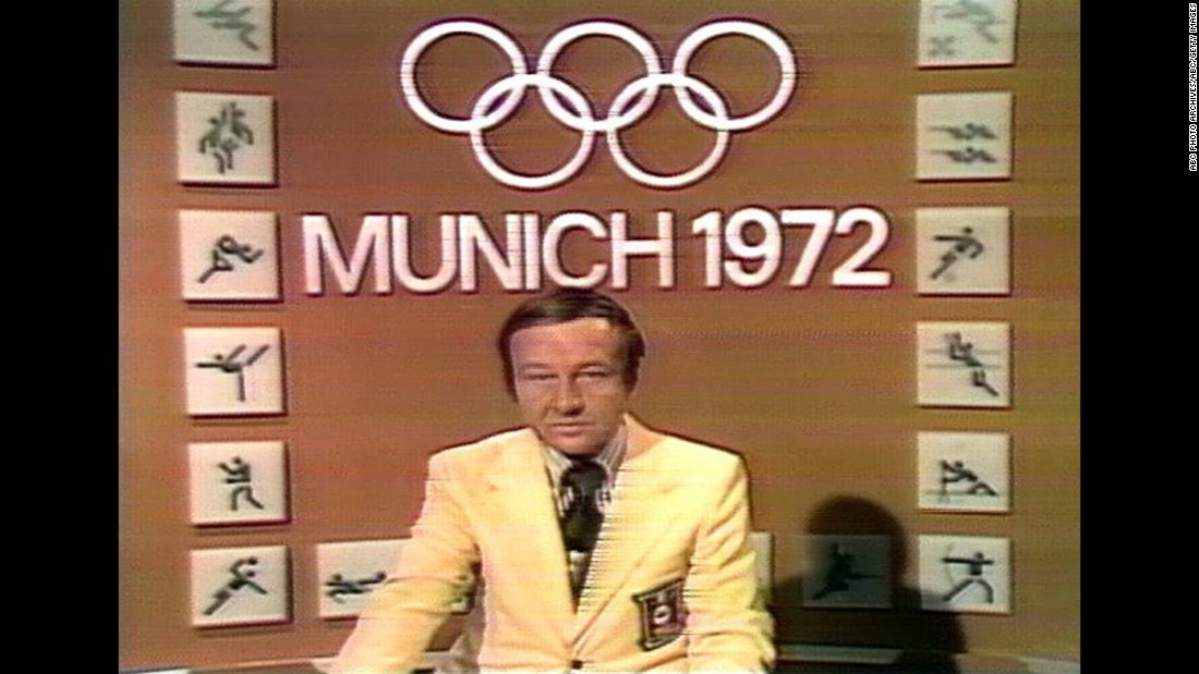 "ABC's coverage of the Munich Olympics in 1972 was interrupted when Black September, a Palestinian terrorist group, took 11 members of the Israeli delegation hostage. Sportscaster Jim McKay anchored 14 hours of live coverage of the crisis, culminating in his report that all the hostages were dead. ""In life, your greatest fears and your greatest hopes are seldom realized,"" McKay told a stunned nation. ""Our worst fears have been realized tonight."""