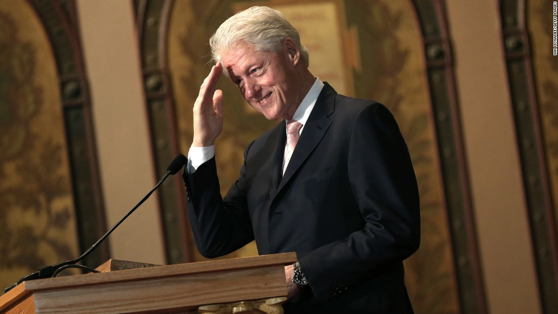 bill clintons character helps him get through his lifes crisis