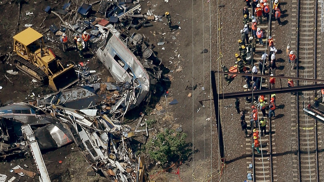 Amtrak train thought to be going twice as fast as it should have been