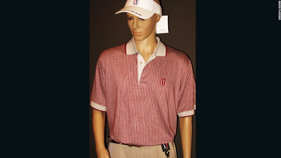 These professionally manufactured, fake PGA Tour-branded clothes were made by a former licensee who continued production after the license expired, says intellectual property lawyer Suebsiri Taweepon.