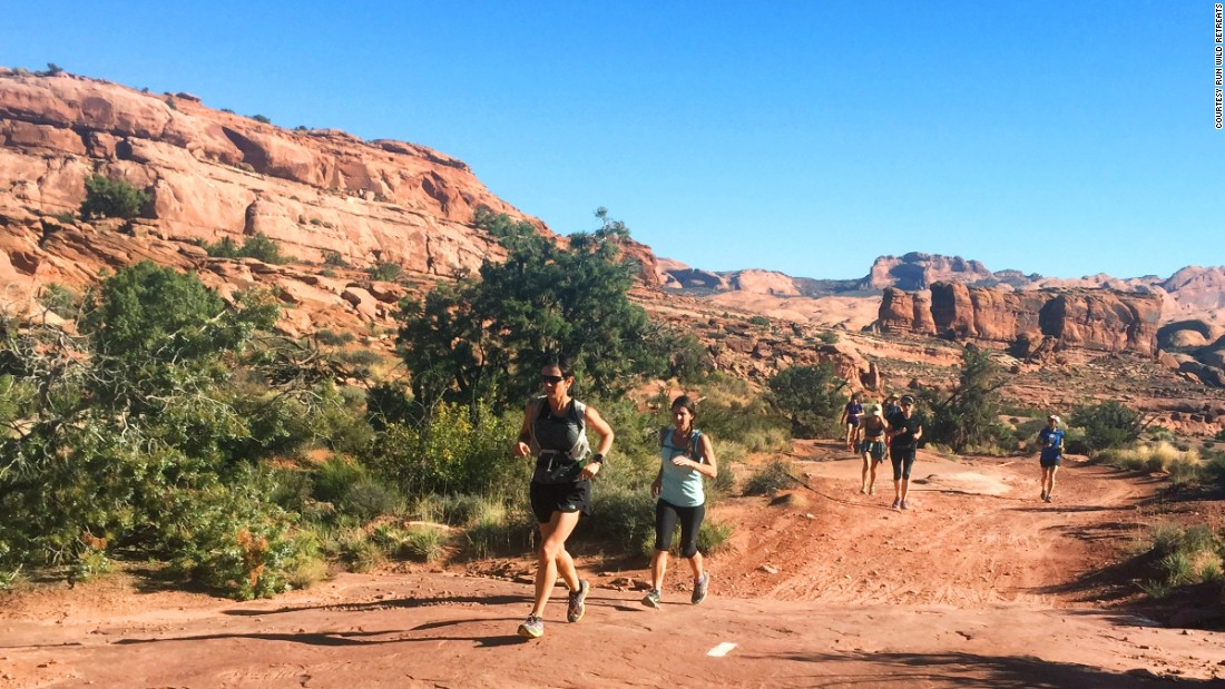 The Run Wild Retreats Moab Mindful Running Retreat takes place mid-October in Moab, Utah.
