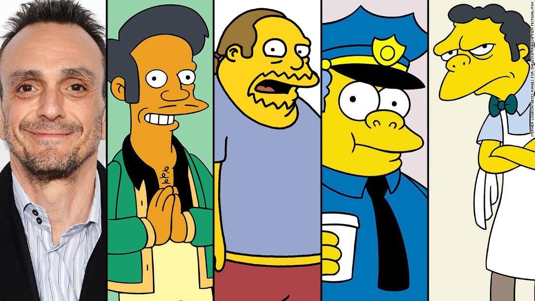 "Where would ""The Simpsons"" be without Hank Azaria? The versatile voice actor does Apu, Comic Book Guy, Chief Wiggum and Moe -- as well as Dr. Nick, Snake Jailbird and the always entertaining Bumblebee Man."