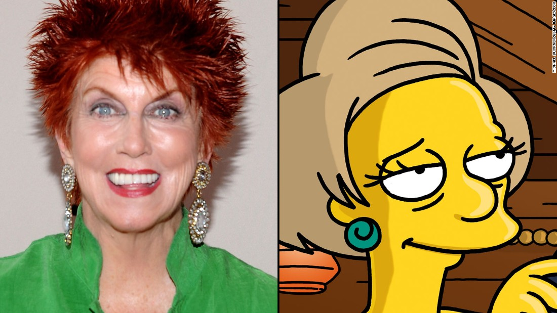 The late Marcia Wallace supplied the voice of Mrs. Edna Krabappel for many years. Her character, like those of the late Phil Hartman (Troy McClure, Lionel Hutz), was essentially retired upon her death.