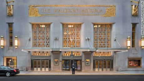 "Located on Park Avenue, the Waldorf-Astoria has hosted every U.S. president from Hoover to Obama and even features a ""secret"" train platform beneath the hotel, used by high-security VIP guests such as Franklin Delano Roosevelt. (It is no longer operational)."