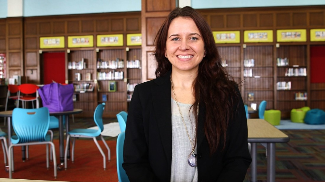 """There are so many children in need of mentors that don't have that experience. The students are very grateful for anyone who is willing to offer that in their life,"" says Clare Carr, site-based supervisor for the Detroit organization."