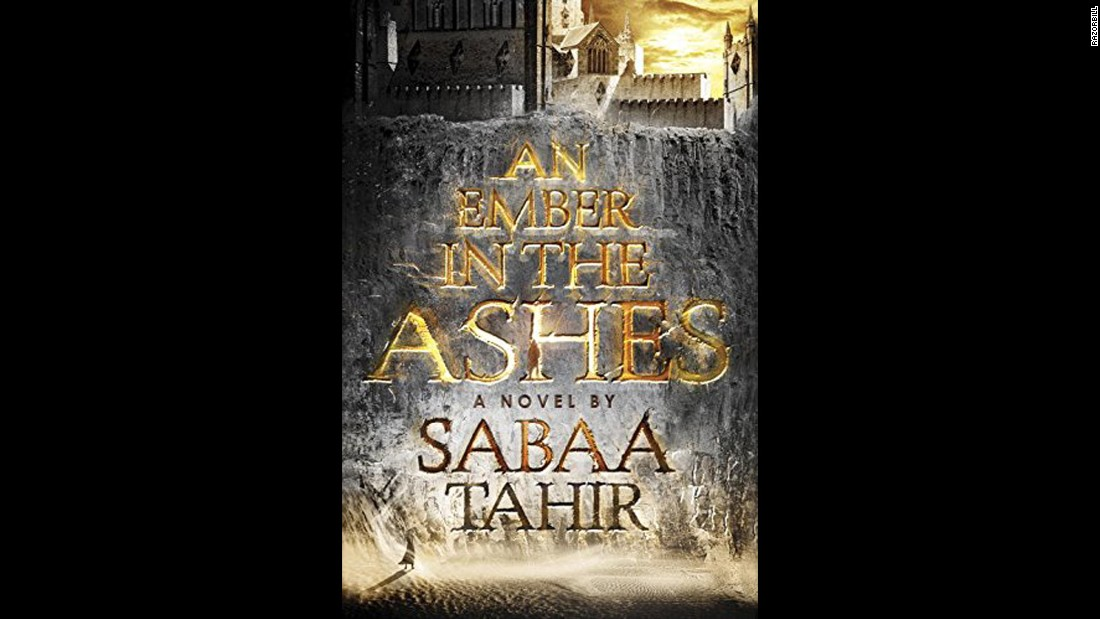 "<strong>""An Ember in the Ashes."" </strong>Set in an empire inspired by ancient Rome, ""An Ember in the Ashes"" tells the story of two characters who live in a brutal world where defiance is met by death. A journalist-turned-young-adult novelist, Sabaa Tahir grew up in her family's 18-room motel in California's Mojave Desert and wrote her debut novel while working as a newspaper editor. Since its publication in April, it's gotten rave reviews. "" 'An Ember in the Ashes' could launch <a href=""http://sabaatahir.com/book/"" target=""_blank"">Sabaa Tahir</a> into J.K. Rowling territory,"" says Public Radio International."