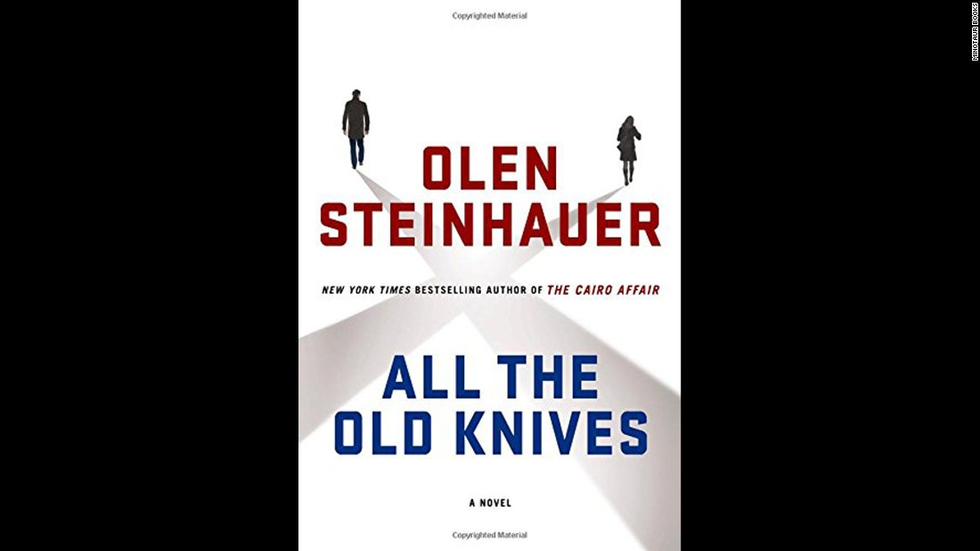 "<strong>""All the Old Knives.""</strong> A master of the spy novel, <a href=""http://www.olensteinhauer.com"" target=""_blank"">Olen Steinhauer </a>had chronicled the Cold War and the post-9/11 world, his characters traveling all over the world. Not so in ""All the Old Knives,"" where two former CIA colleagues and former lovers meet over a meal in the elegant California town of Carmel-by-the-Sea to discuss old times. One question remaining for the former staffers at the CIA's Vienna station: Who -- if anyone -- sold them out during a hostage crisis six years earlier? The Washington Post calls it ""a splendid tour de force.""<br />"