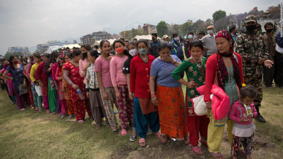 Help victims of the Nepal earthquake
