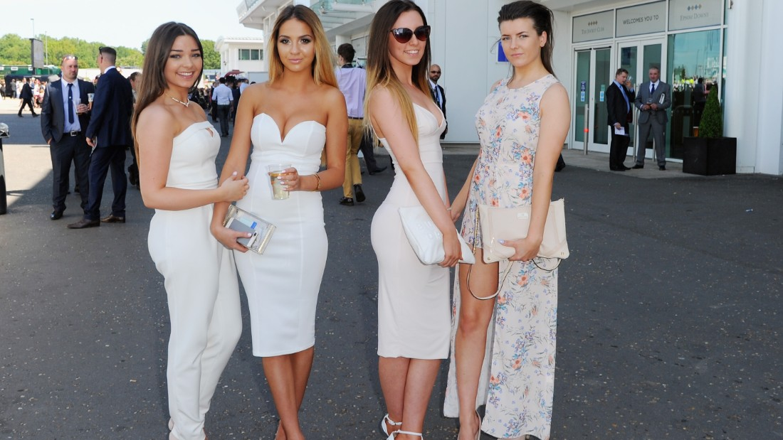 The course that hosts it each year, Epsom, attracts a wide range of patrons. From the fashionistas...