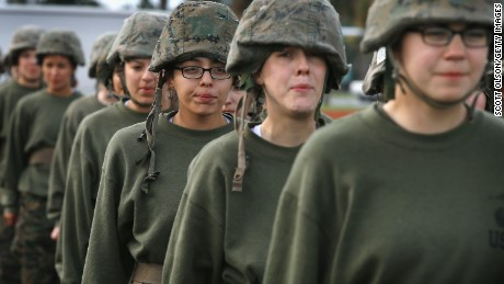 Wanted: Tough, feminine soldiers