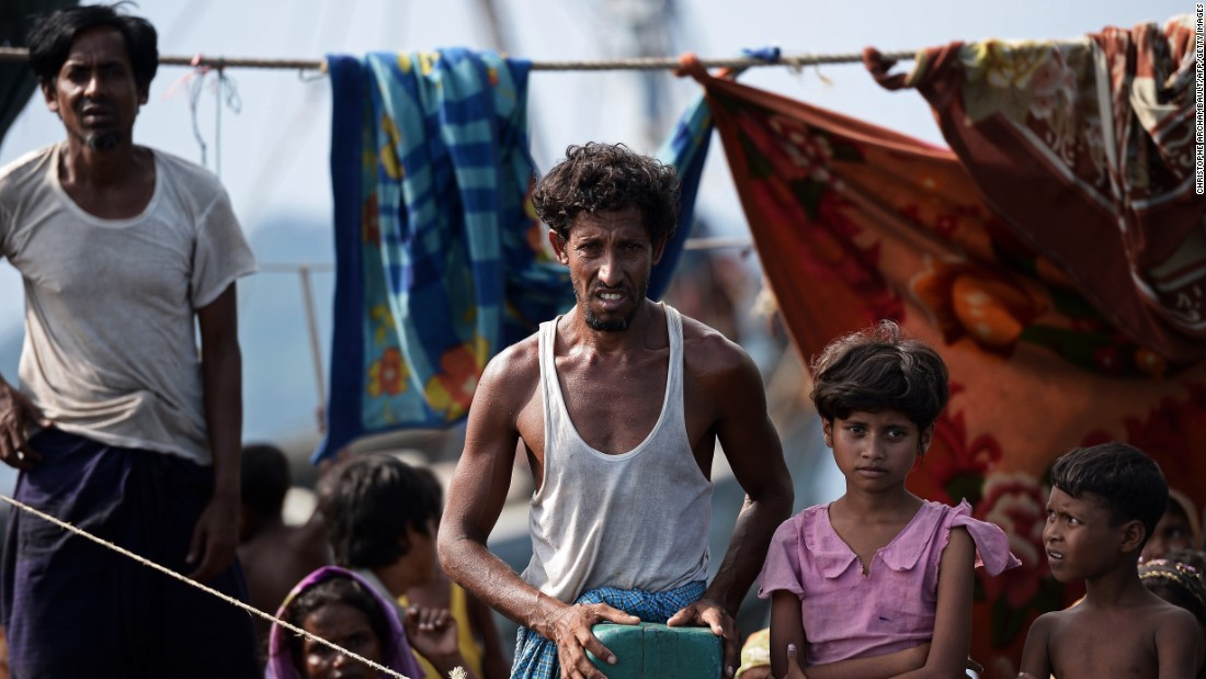 The Rohingya are a persecuted Muslim minority who are effectively stateless in majority-Buddhist Myanmar. They are forced to live in crowded camps -- which they are generally forbidden to leave --  and are considered to be interlopers from neighboring Bangladesh, despite the fact that many have lived in Myanmar for generations.