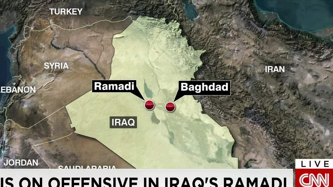 ISIS seizes control of key Iraqi city Ramadi as government forces pull back