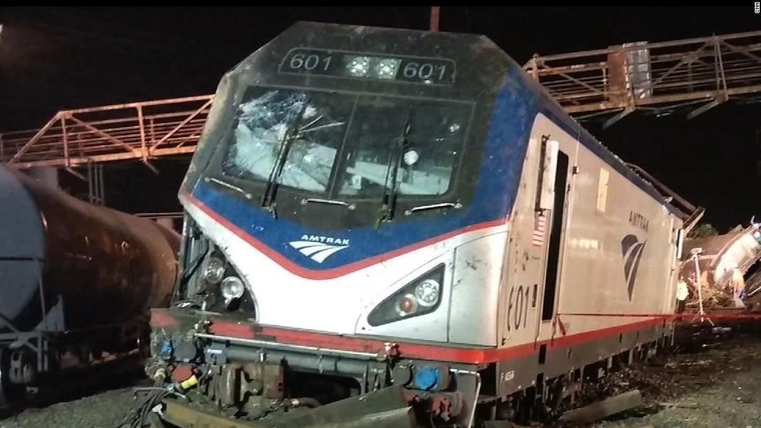Amtrak installs speed controls at fatal crash site