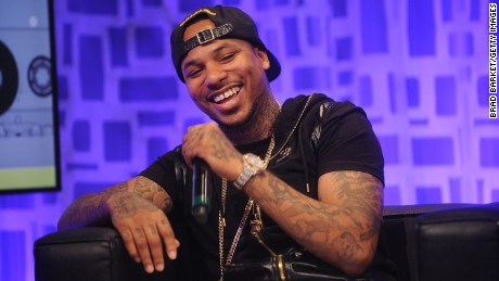 NEW YORK, NY - JUNE 11: Hip-hop artist Chinx attends BET 106 and Park on June 11, 2014 in New York City. (Photo by Brad Barket/Getty Images for BET)