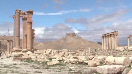 Ancient Syrian city of Palmyra threatened by ISIS
