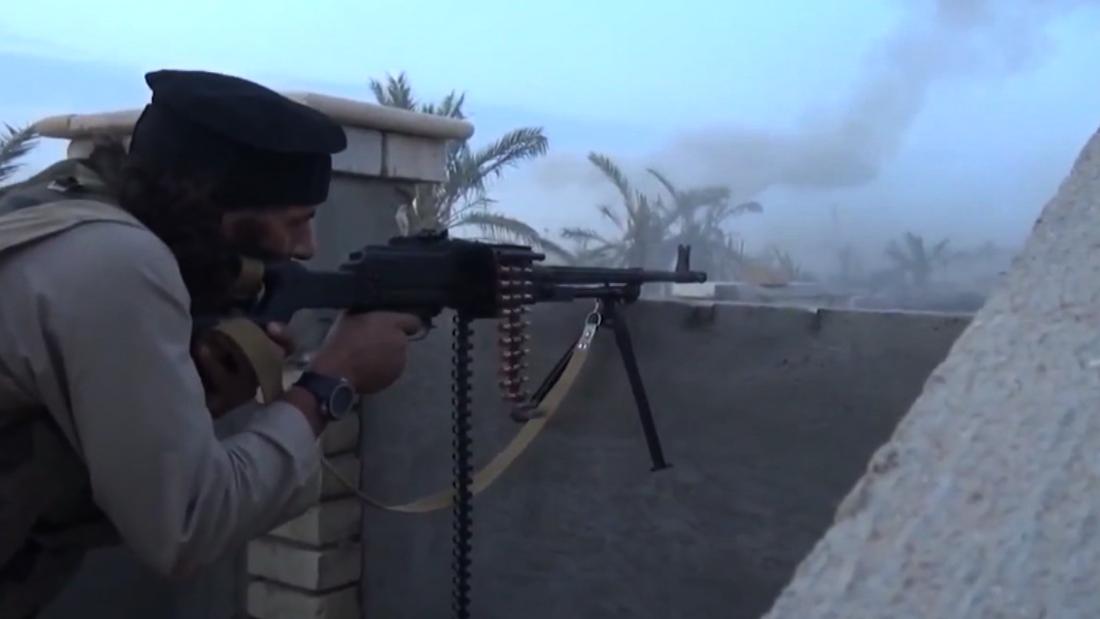 Iraqis bombard ISIS-held Falluja, stirring memories of battles past