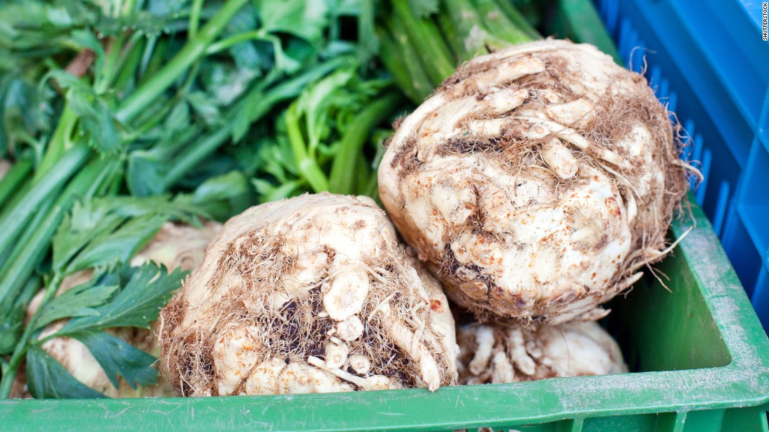 "These homely roots are members of the mustard family and have a firm, creamy-yellow interior. They should always be peeled (tip: it's easier if you cut the root into pieces first). They are lovely in stews and pot roasts in place of that boring standby, the potato. Just like the potato, rutabagas are a bit high in sugars, but they have no cholesterol or fat and are a great <a href=""http://nutritiondata.self.com/facts/vegetables-and-vegetable-products/2610/2"" target=""_blank"">source</a> of vitamin C, potassium, manganese and dietary fiber."